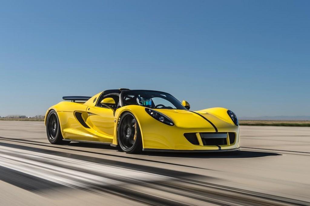 Hennessey Venom Gt Spyder Sets New Open Top Speed Record