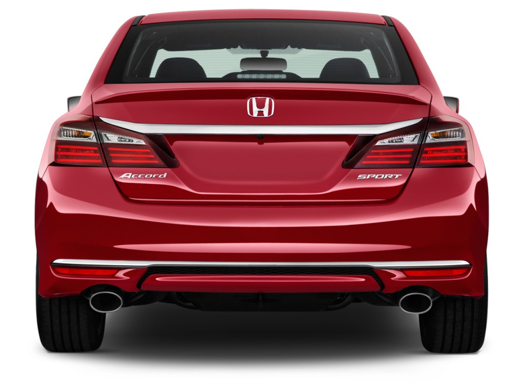 Image 2016 honda accord sedan 4 door i4 cvt sport rear for Rear exterior door