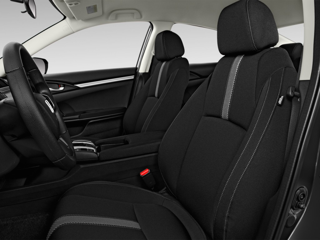 Image 2016 Honda Civic 4 Door Cvt Lx Front Seats Size