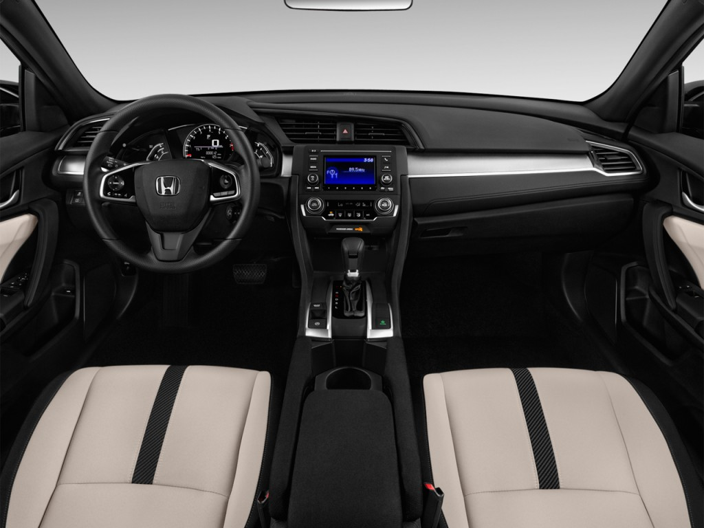Image: 2016 Honda Civic 4-door Man LX Dashboard, size ...