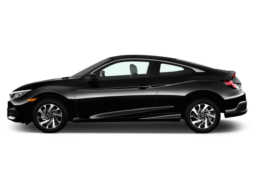 Image: 2016 Honda Civic 4-door Man LX Side Exterior View ...
