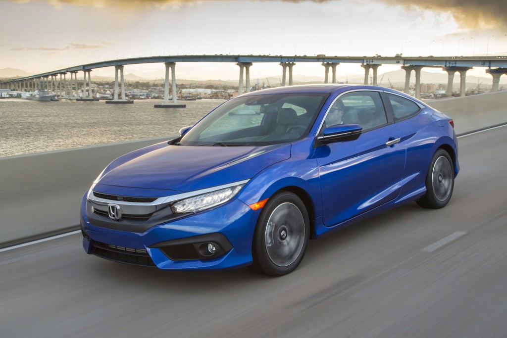 2016 Honda Civic Coupe: First Drive