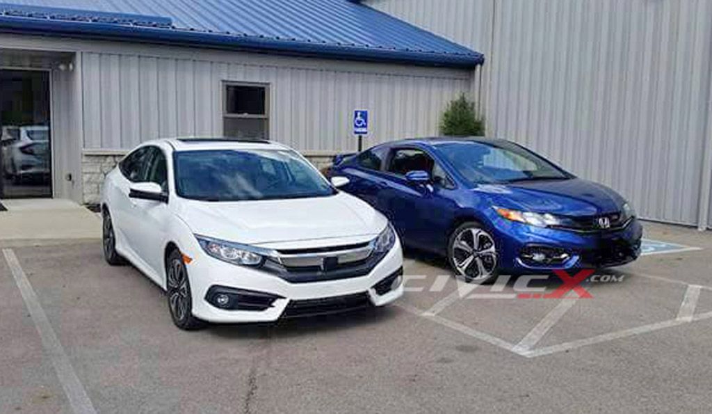 Honda Civic 2016 Vs 2017 >> Compare And Contrast The 2016 Honda Civic With The Previous