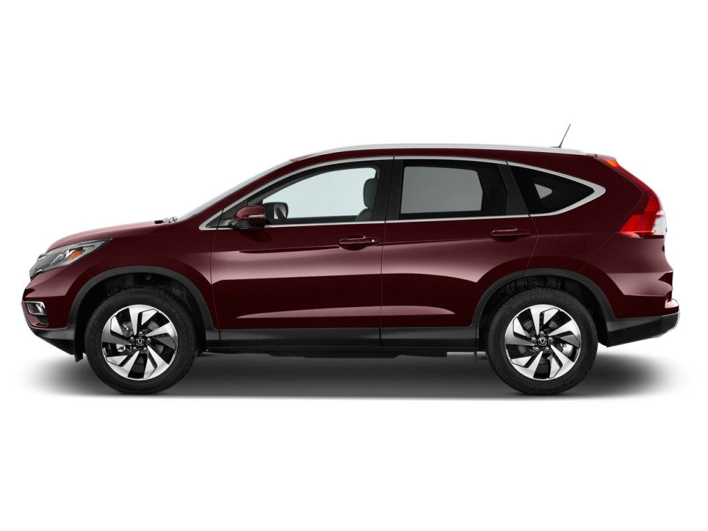 Image 2016 Honda Cr V 2wd 5dr Touring Side Exterior View
