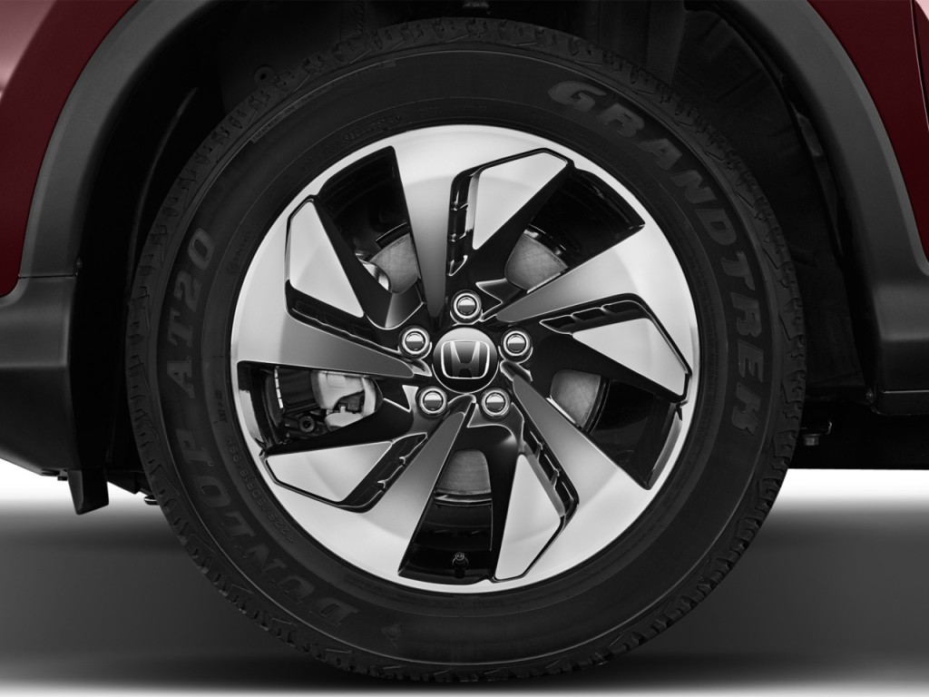 Image 2016 honda cr v 2wd 5dr touring wheel cap size for 2016 honda odyssey tire size