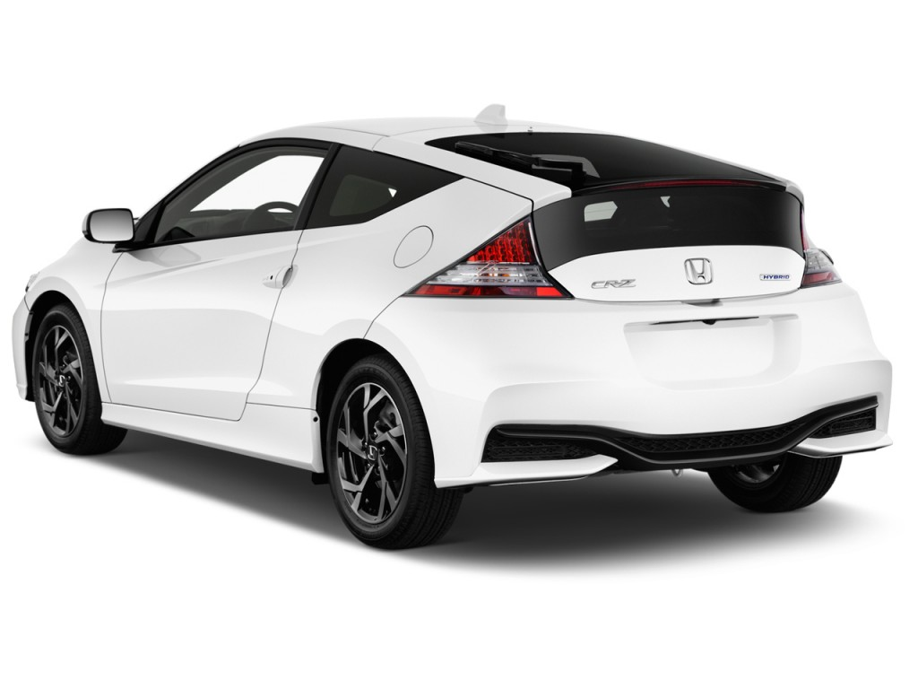 Image 2016 Honda Cr Z 3dr Man Ex Angular Rear Exterior