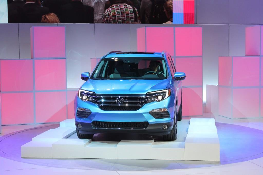 Image 2016 Honda Pilot 2015 Chicago Auto Show Live
