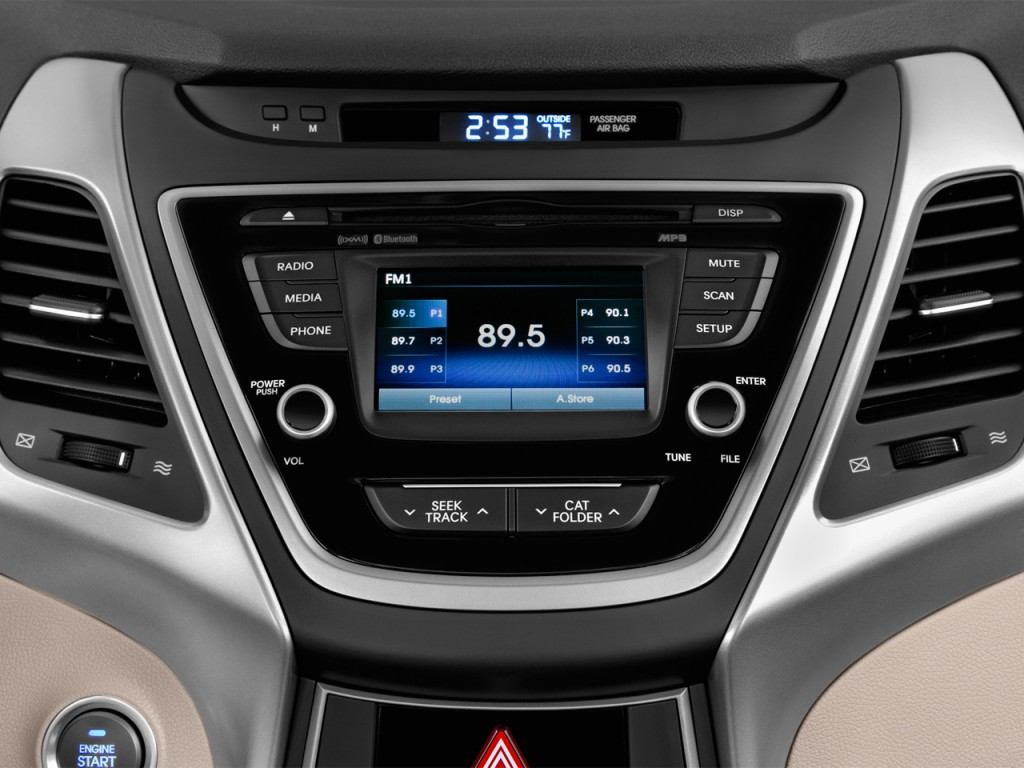 Image 2016 Hyundai Elantra 4 Door Sedan Auto Value