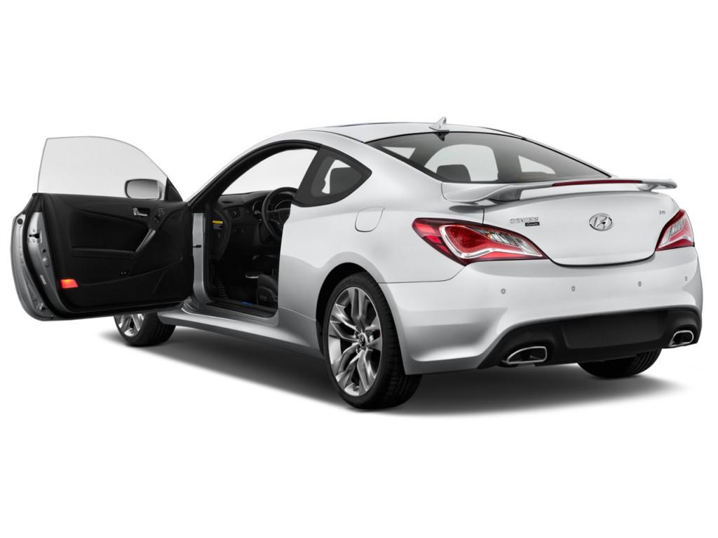 Hyundai Genesis Coupe Door L Auto Base W Black Seats Open Doors L