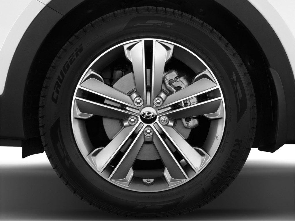 Image: 2016 Hyundai Santa Fe FWD 4-door Limited Wheel Cap ...