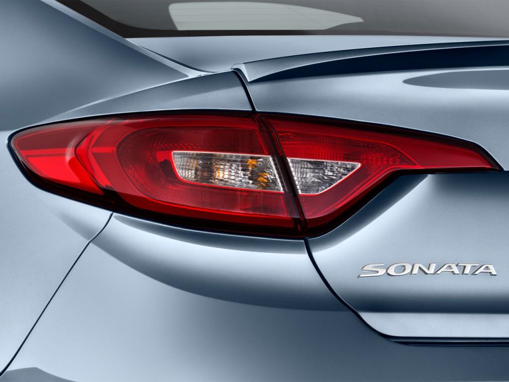 Image 2016 Hyundai Sonata 4 Door Sedan 1 6t Eco Tail