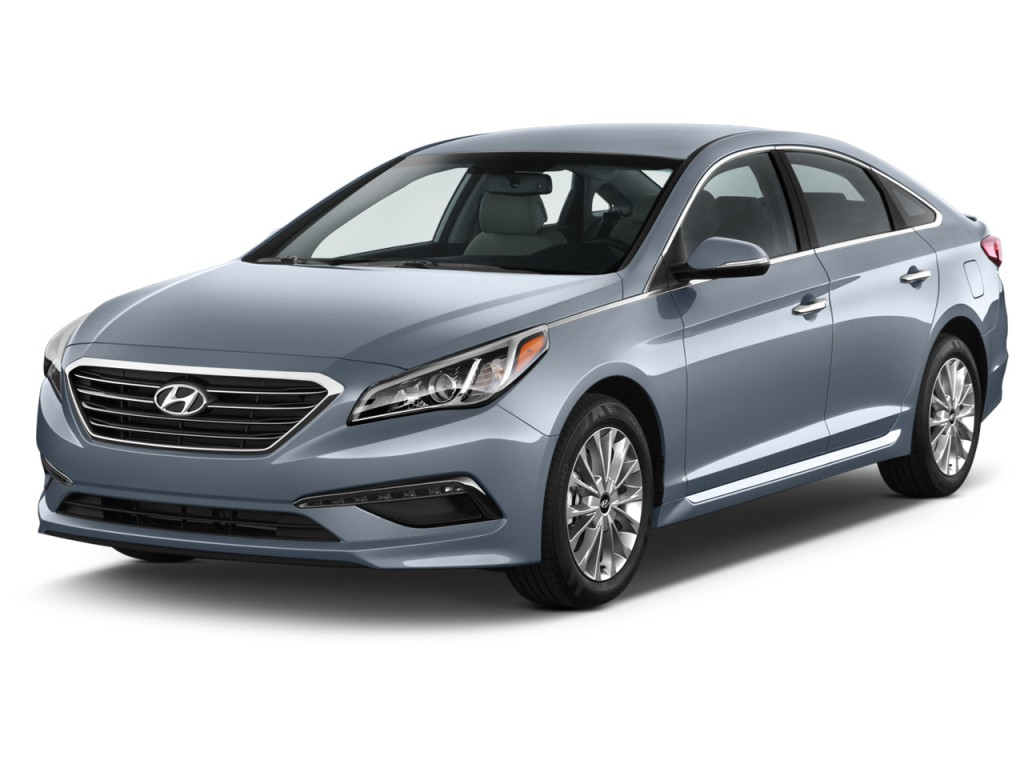 Image: 2016 Hyundai Sonata 4-door Sedan 2.4L Limited ...