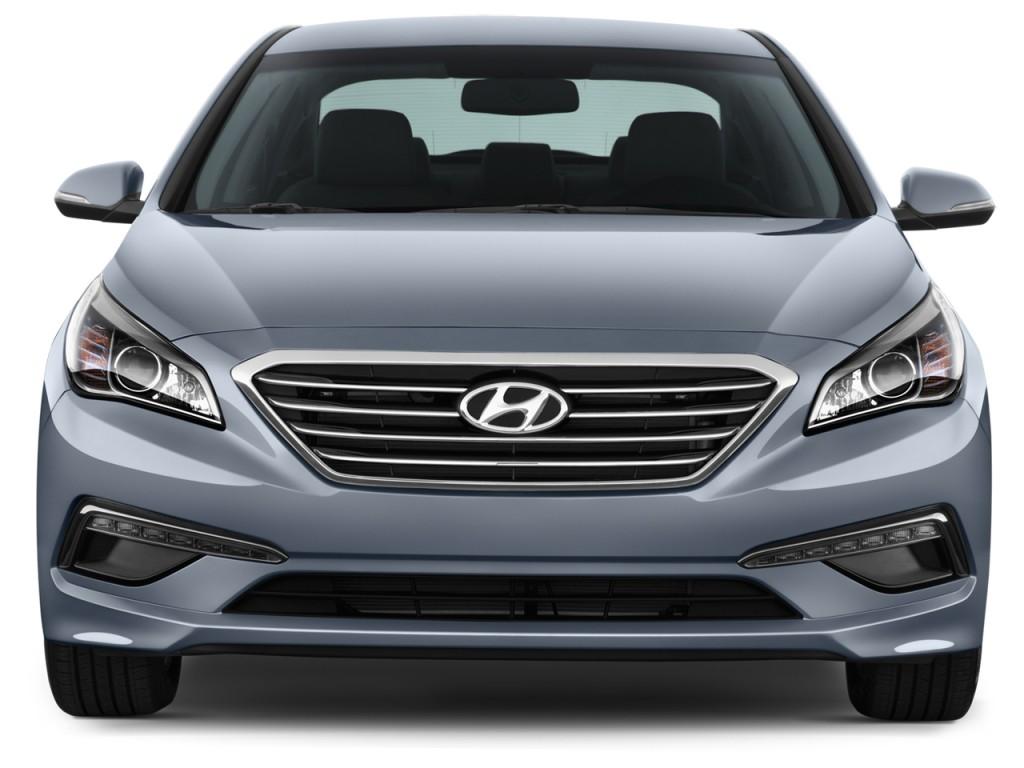 Hyundai Sonata Door Sedan L Limited Front Exterior View L