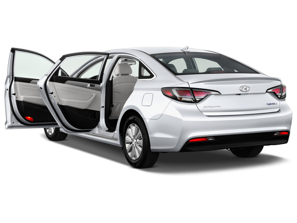 Image 2016 Hyundai Sonata Hybrid 4 Door Sedan Se Open