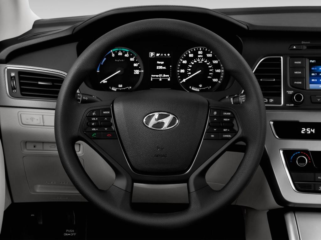image 2016 hyundai sonata hybrid 4 door sedan se steering wheel size 1024 x 768 type gif. Black Bedroom Furniture Sets. Home Design Ideas