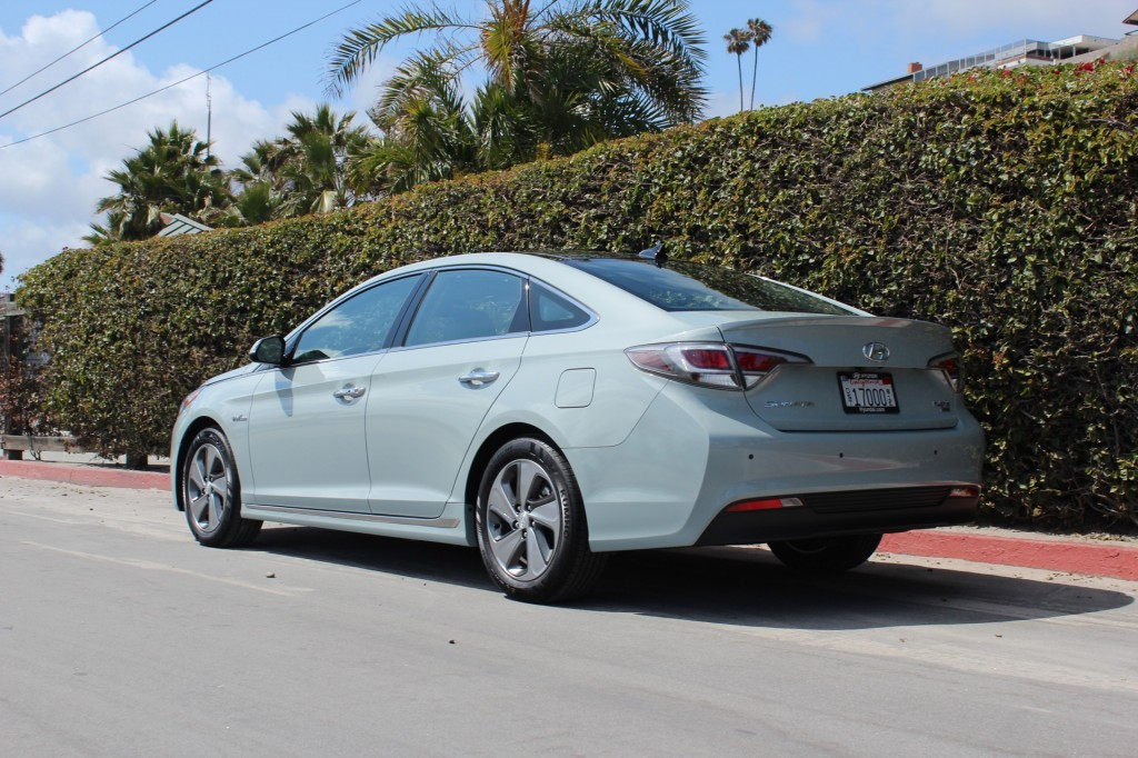 Image 2016 Hyundai Sonata Hybrid First Drive May 2015