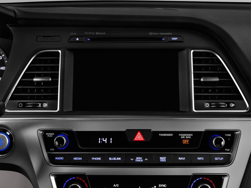 image 2016 hyundai sonata plug in hybrid 4 door sedan limited audio system size 1024 x 768. Black Bedroom Furniture Sets. Home Design Ideas