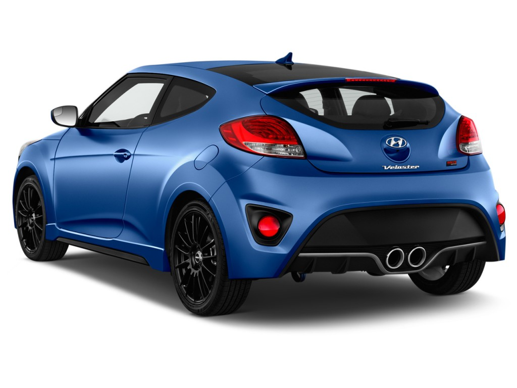 image 2016 hyundai veloster 3dr coupe man turbo rally edition angular rear exterior view size. Black Bedroom Furniture Sets. Home Design Ideas