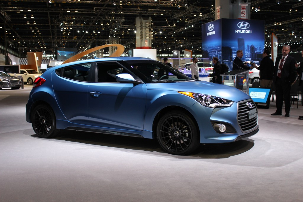 2016 Hyundai Veloster Rally Edition, 2015 Chicago Auto Show