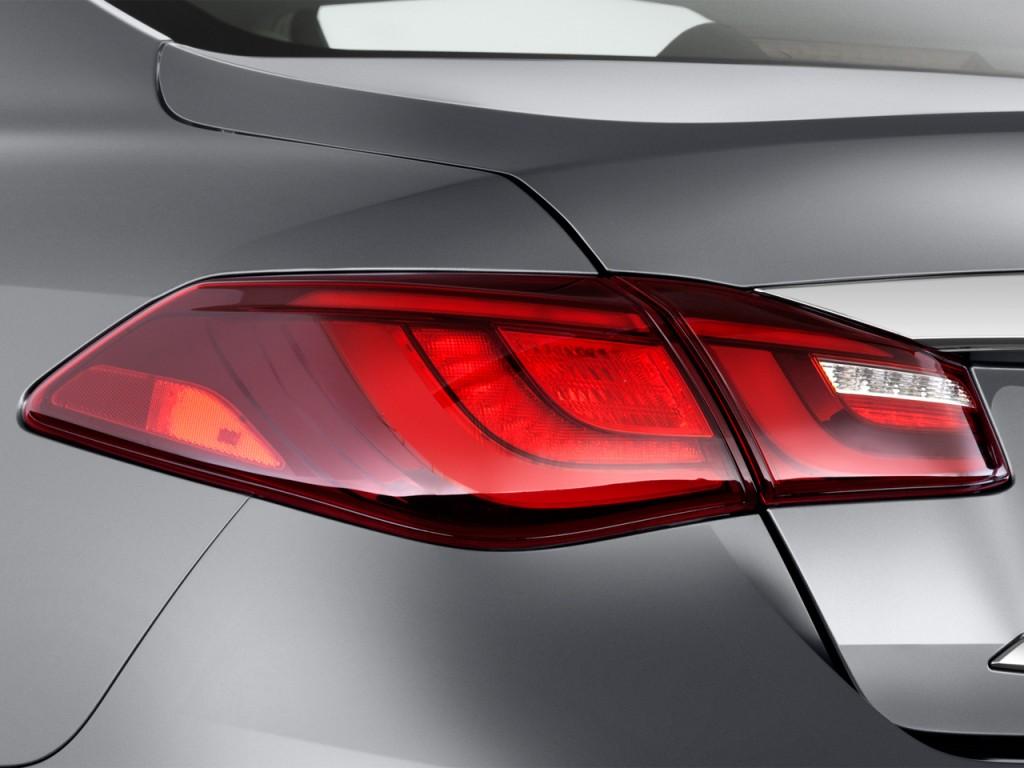 Image: 2016 Infiniti Q70L 4-door Sedan V6 RWD Tail Light ...
