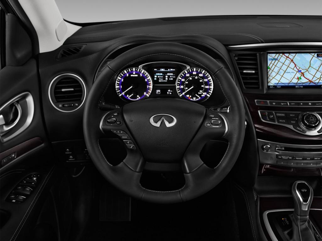 Image: 2016 Infiniti QX60 FWD 4-door Steering Wheel, size ...