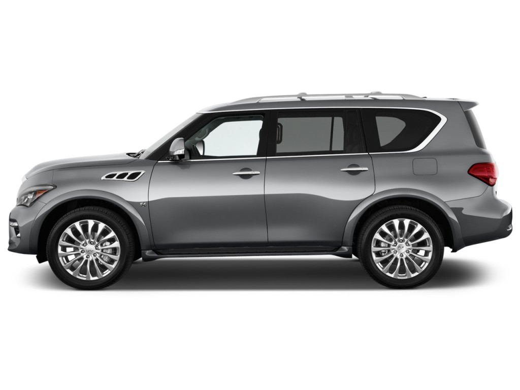 Image 2016 Infiniti Qx80 2wd 4 Door Side Exterior View
