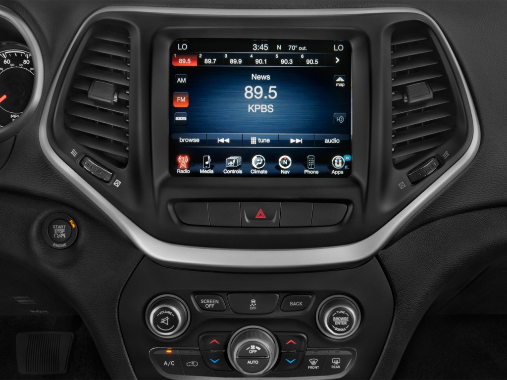 Image: 2016 Jeep Cherokee 4WD 4-door Trailhawk Audio ...