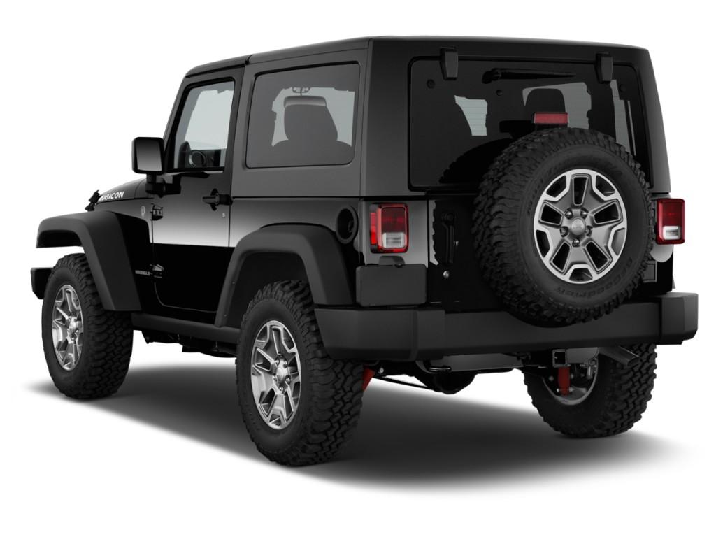 Image 2016 Jeep Wrangler 4wd 2 Door Rubicon Angular Rear