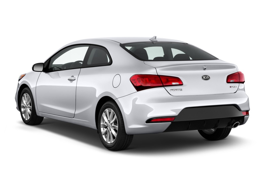 Image 2016 Kia Forte 2 Door Coupe Auto Ex Angular Rear Exterior View Size 1024 X 768 Type