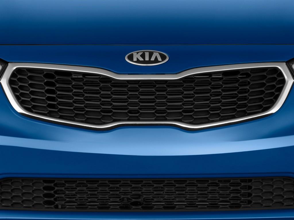 Image: 2016 Kia Forte 4-door Sedan Auto EX Grille, size ...