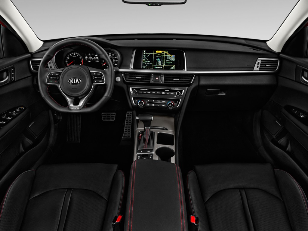 image 2016 kia optima 4 door sedan sx turbo dashboard. Black Bedroom Furniture Sets. Home Design Ideas