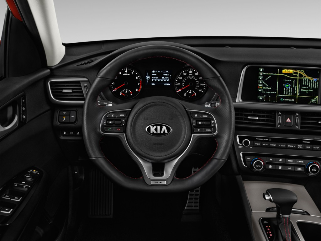 image 2016 kia optima 4 door sedan sx turbo steering. Black Bedroom Furniture Sets. Home Design Ideas