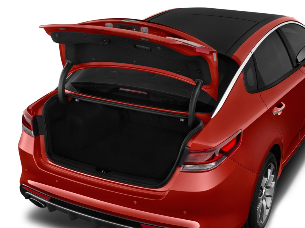 Image: 2016 Kia Optima 4-door Sedan SX Turbo Trunk, size ...