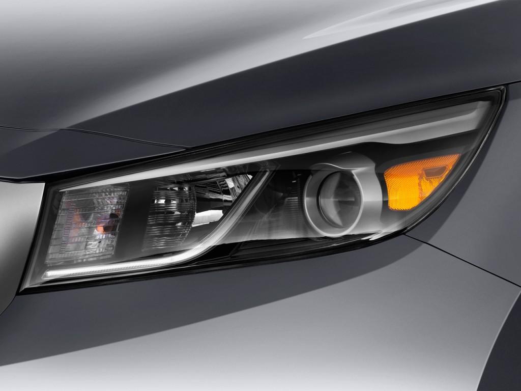 Image: 2016 Kia Sedona 4-door Wagon EX Headlight, size ...