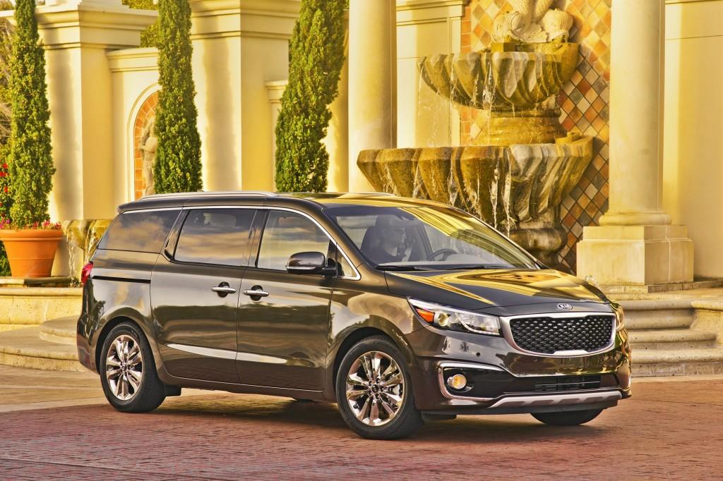 2017 kia sedona minivan earns top safety pick from iihs. Black Bedroom Furniture Sets. Home Design Ideas