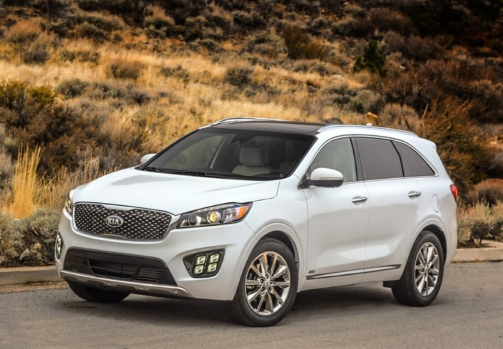 2016 Kia Sorento Earns Top Safety Scores From IIHS