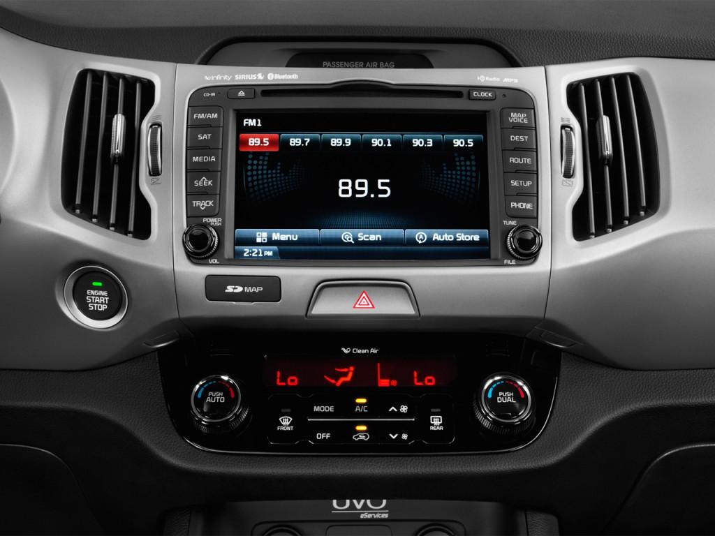 Image 2016 Kia Sportage Awd 4 Door Sx Audio System Size