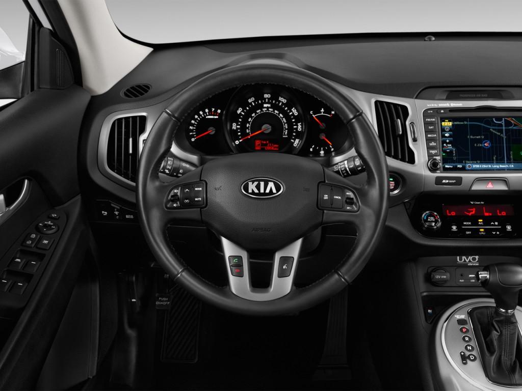 image 2016 kia sportage awd 4 door sx steering wheel. Black Bedroom Furniture Sets. Home Design Ideas