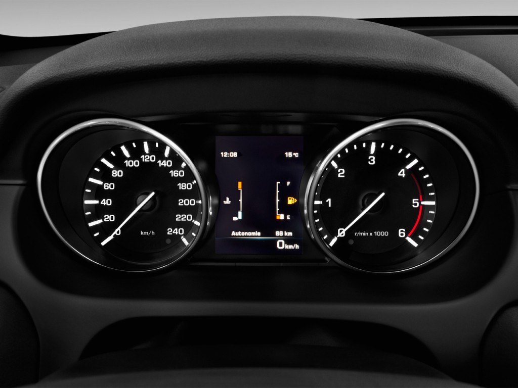 2017 Land Rover Discovery Sport Hse Lux >> Image: 2016 Land Rover Discovery Sport AWD 4-door HSE LUX Instrument Cluster, size: 1024 x 768 ...