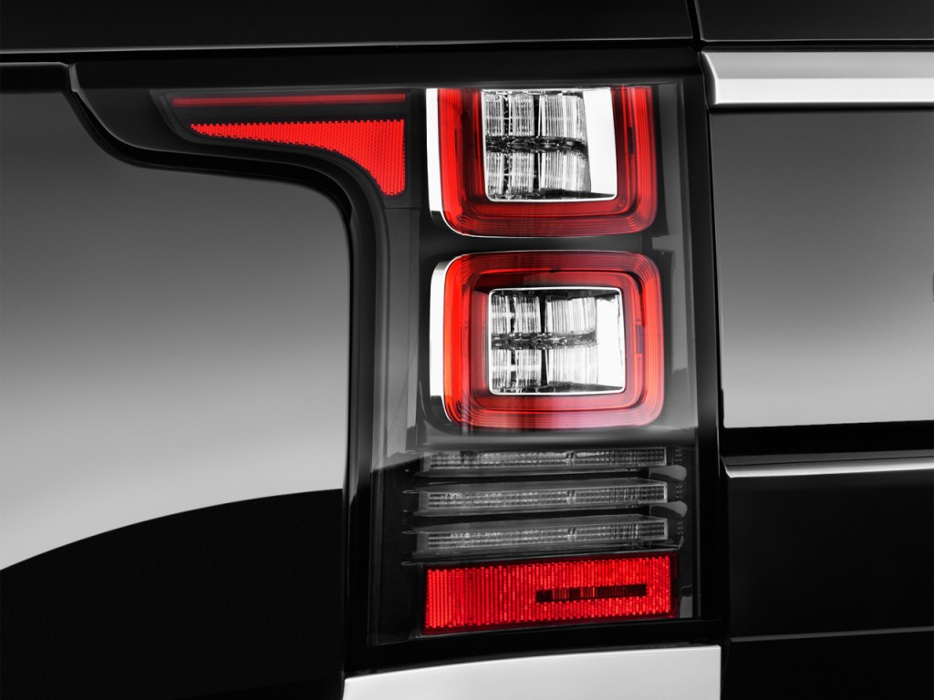 Image: 2016 Land Rover Range Rover 4WD 4-door HSE Tail ...
