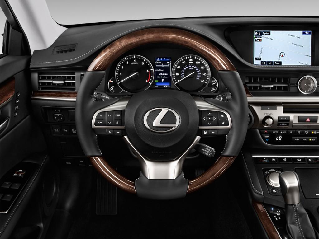 Used Tesla Model X For Sale >> Image: 2016 Lexus ES 350 4-door Sedan Steering Wheel, size: 1024 x 768, type: gif, posted on ...