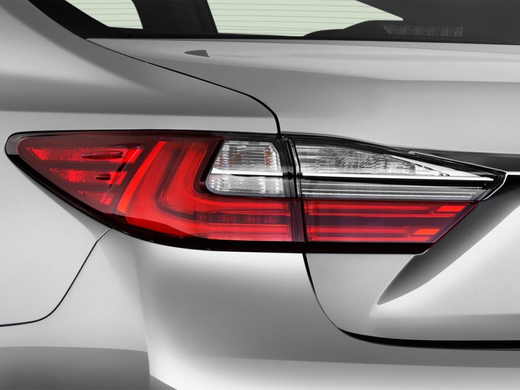 Image: 2016 Lexus ES 350 4-door Sedan Tail Light, size ...