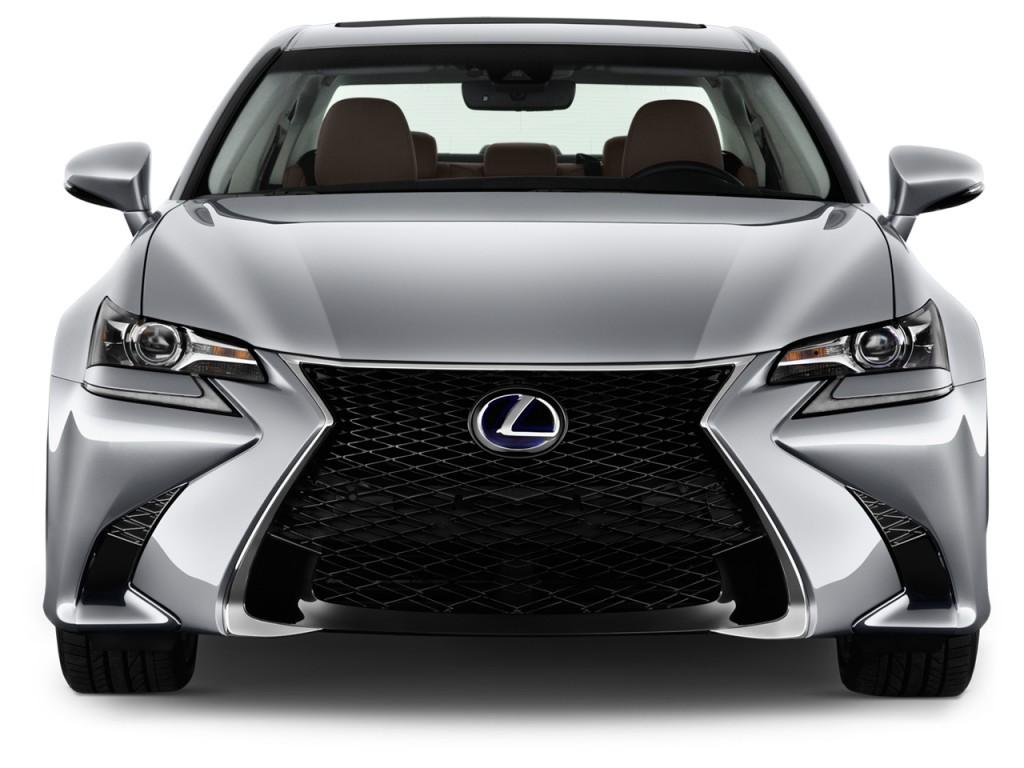 Image: 2016 Lexus GS 450h 4-door Sedan Hybrid Front ...