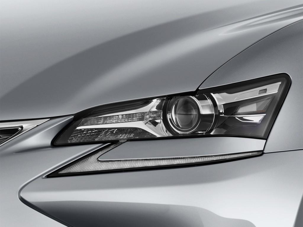 Image 2016 Lexus GS 450h 4 Door Sedan Hybrid Headlight