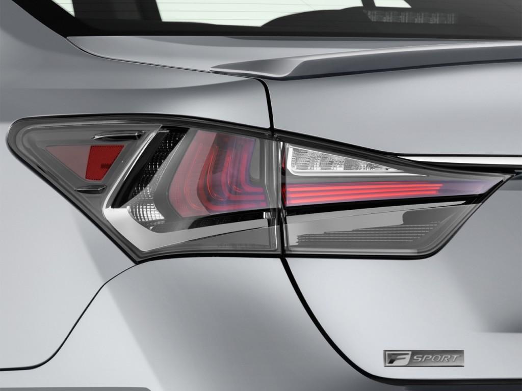 Image: 2016 Lexus GS 450h 4-door Sedan Hybrid Tail Light ...