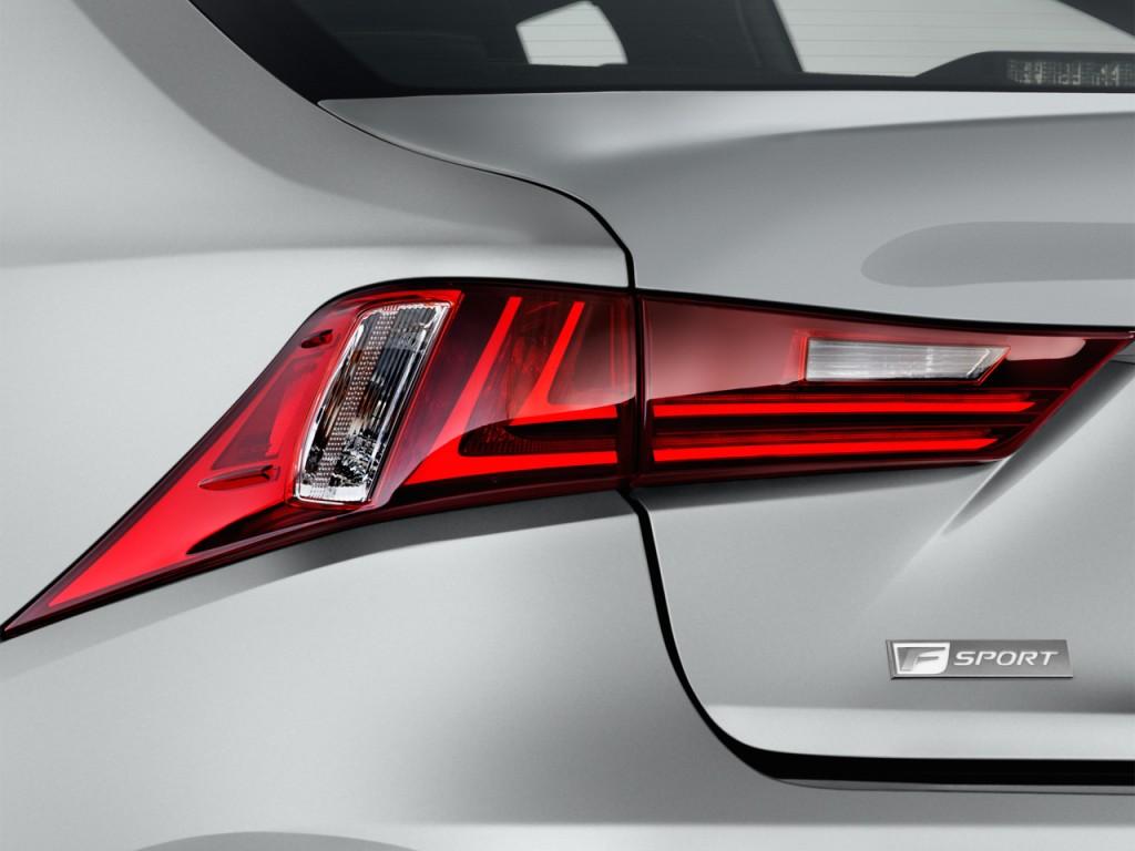 Image: 2016 Lexus IS 200t 4-door Sedan Tail Light, size ...