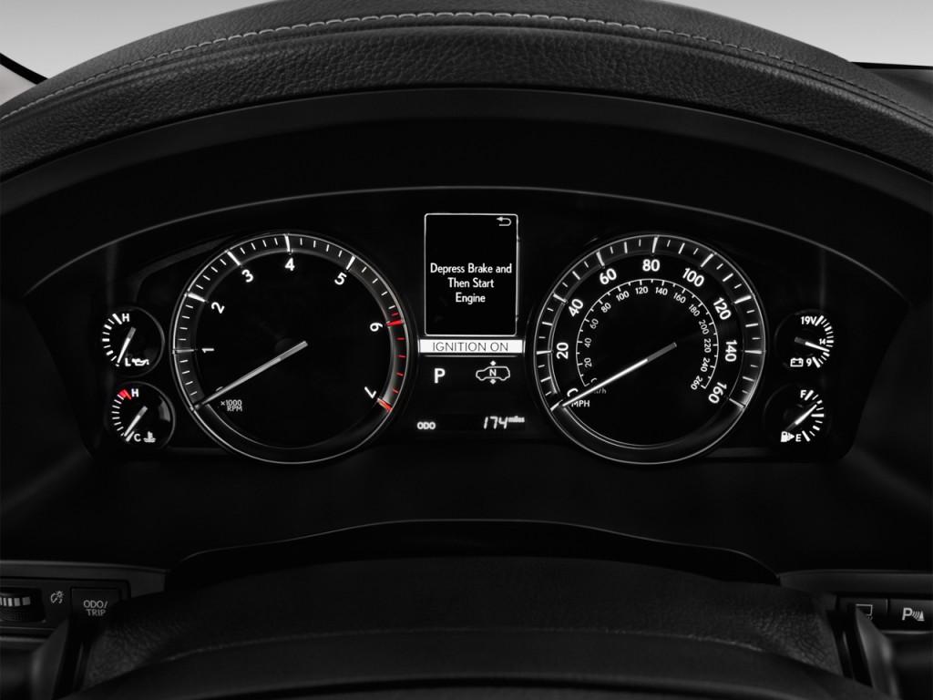 Image: 2016 Lexus LX 570 4WD 4-door Instrument Cluster ...