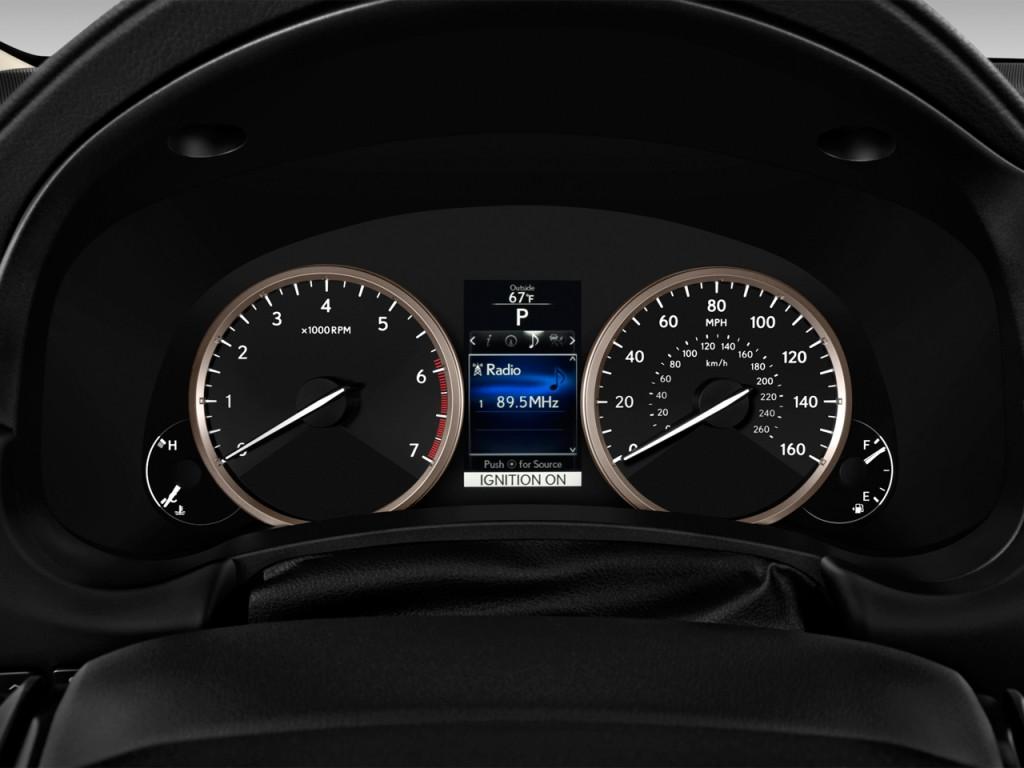 Image: 2016 Lexus NX 200t FWD 4-door Instrument Cluster ...