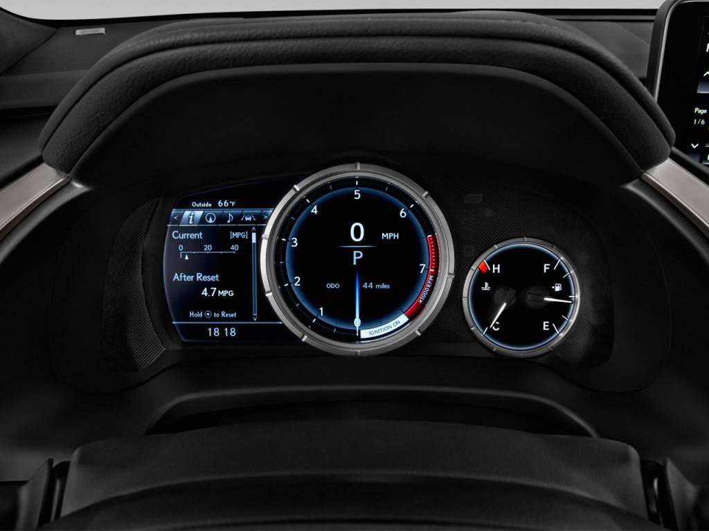 Image 2016 Lexus Rx 350 Awd 4 Door F Sport Instrument