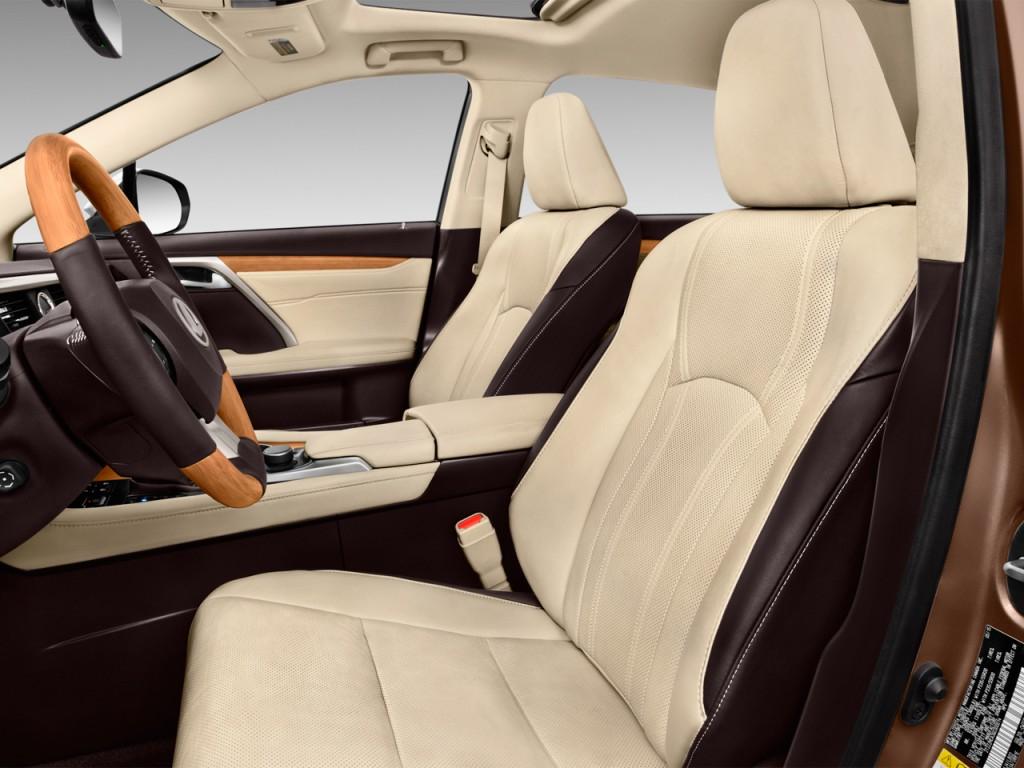 Image: 2016 Lexus RX 350 FWD 4-door Front Seats, size ...